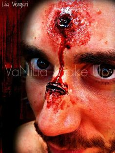 Special effect make up.