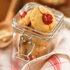 Who can resist these delicious biscuits topped with a cute cherry? This Melting Moments Recipe is perfect to bring out for a coffee morning with friends.
