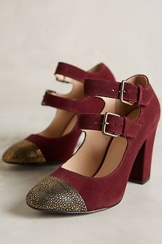 Moulin Pumps - anthropologie.com #anthrofave