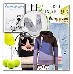 """Banggood 6."" by lillili25 ❤ liked on Polyvore featuring Calvin Klein, Forum, Dot & Bo, L. Erickson, IRIS VON ARNIM and Miu Miu"
