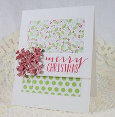 Handmade Greeting Card - Merry Christmas