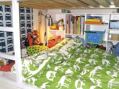 ikea hack: cama kura de 140cm de ancho : Baby-Deco