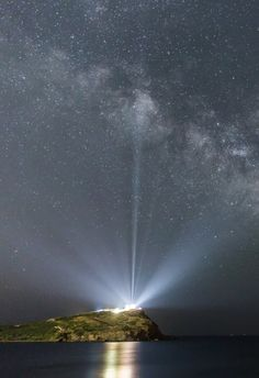 The Milky Way over the Temple of Poseidon, at Cape Sounion, Greece. By Alexandros Maragos