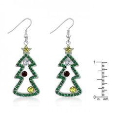 Christmas Earrings #IconBijoux