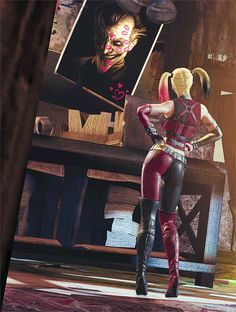 This is my favorite harley quinn design next to insurgency harley