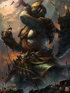 Gigante legend of the cryptids