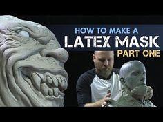 Creature Effects Tutorial - How to Make a Latex Mask Part 1 - Sculpt Halloween Masks with FX artist Tim Martin