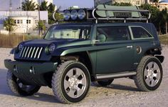 http://chicerman.com  carsthatnevermadeit:  Jeep Willys 2 Concept 2002  #cars