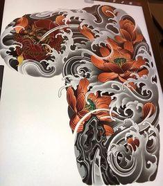 Asian Tattoos, Weird Tattoos, Body Art Tattoos, Sleeve Tattoos, Arabic Tattoos, Tattoo Sleeves, Japanese Tattoo Symbols, Japanese Dragon Tattoos, Face Painting Tutorials
