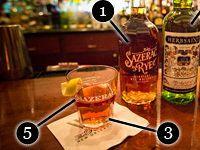 Five Step process to make the perfect Sazerac!