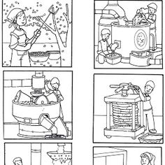 Secuencias Temporales para recortar y colorear! Sequencing Pictures, Sequencing Cards, Story Sequencing, Free Coloring, Coloring Pages, Kindergarten, Sequence Of Events, Picture Story, How To Make Comics