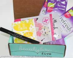 Beauty Box 5 May 2014 Unboxing Video & Review featuring Masker Aide, Ban, & More!
