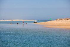 Praia da Barrinha. Barra de S Luís. Algarve.