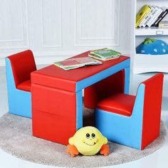 Multi-functional Kids Sofa Table Chair Set Couch Storage Box Furniture Bedroom - Chair Bedroom - Ideas of Chair Bedroom - Multi-functional Kids Sofa Table Chair Set Couch Storage Box Furniture Bedroom Price : Sofa Table With Storage, Couch Storage, Kids Table Chair Set, Kid Table, Kids Storage, Kids Bedroom Furniture, Couch Furniture, Bedroom Chair