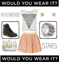 """""""Would you wear it?"""" by virty8 ❤ liked on Polyvore"""