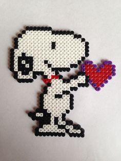 Snoopy / perler bead