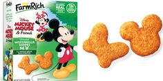 """""""The most magical snack EVER."""" -Delish New Mickey Mouse, Mickey Mouse And Friends, Protein Packed Snacks, Top Secret Recipes, Disney Food, Kfc, Fried Chicken, Mozzarella, Shapes"""