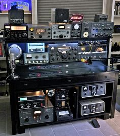 For all you HAMs out there do you prefer classic gear or the latest and greatest? Radios, Radio Amateur, Ham Radio Operator, Cyber Warfare, Ham Radio Antenna, Recording Equipment, Antique Radio, Survival, Hams