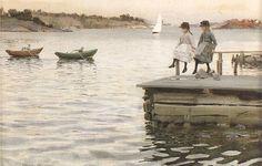 Anders Zorn, Swedish (1860-1920) - Paintings I love