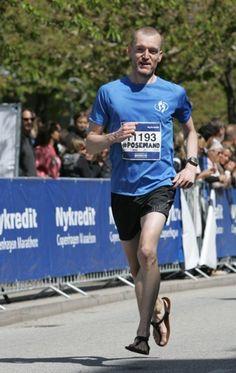 Running a sub-3 hour sandal marathon