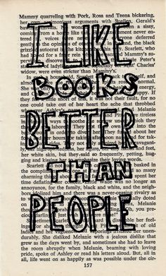 Sadly, this is probably true for most values of 'book' and most values of 'people' :)