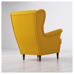 IKEA - STRANDMON Wing chair Skiftebo yellow