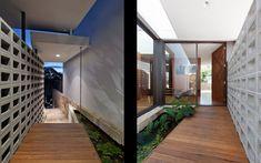 Murs et espaces de cicrulation intérieure. MCK - Sydney Architects / Projects / FLIPPED HOUSE