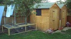 Afbeeldingsresultaat voor garden shed for bunny