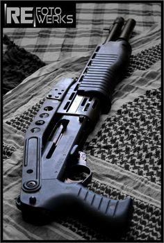 SPAS 12 Franchi 12 gauge shotgun semi auto pump action RE Fotowerks