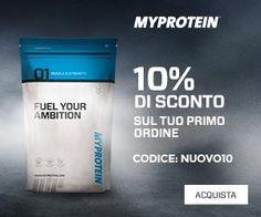 Carmen Leonida: Nuovo cliente MyProtein?