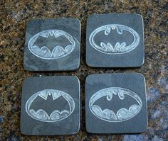 Hand carved Black Slate stone coasters square shape by SAGaStone Slate Stone, Stone Coasters, Hand Carved, Carving, Etsy Shop, Shapes, Black, Black People, Wood Carvings