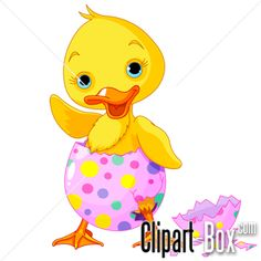 CLIPART EASTER DUCK
