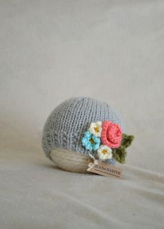 A personal favorite from my Etsy shop https://www.etsy.com/listing/229384089/flower-hat-newborn-to-3-months-hat-pink