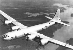 The Boeing Model 345 prototype for the B-29 Superfortress bomber first flew 70 years ago, on Sept. 21, 1942. The B-29 followed up on Boeing's iconic B-17 Flying Fortress and played a huge role in the Pacific theater during World War II, including dropping the only two atomic bombs ever used in war. Photo: U.S. Air Force Historical Research Agency / SL