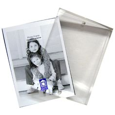 Find Personalized Imprinted 2 x 3 Clear Photo Holder Magnet at Create A Favor, along with other wedding favors and personalized gifts. Black Photo Frames, 5x7 Picture Frames, Wedding Picture Frames, Wedding Frames, Photo Coasters, Diy Coasters, Class Reunion Favors, Photo Holders