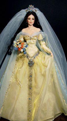 Medieval bride. Tonner OOAK Barbie doll