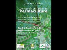 concevoir un jardin en permaculture 1 conférence un jardin à Strasourg : plans (terre compacte +++ à l'origine). Pas très fun, mais très instructif et précis. Gros travail de conception et d'observation / et en effet peu de cout en travail physique et en cout financier.