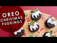 Biscuit Crafts - Oreo Christmas Pudding DIY - Nikki McWilliams