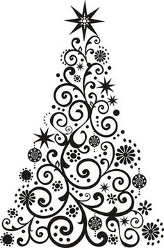 Print the tree out then cover it in glitter Quilling Christmas, Christmas Drawing, Christmas Paintings, Christmas Tree Clipart, Christmas Signs, Christmas Pictures, Decoracion Navidad Diy, Christmas Crafts, Christmas Decorations