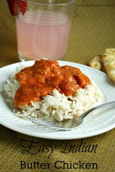 Easy Indian Butter Chicken ~ great weeknight meal! #recipe