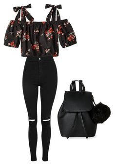 """Untitled #32"" by massamisso on Polyvore featuring Topshop and IMoshion"