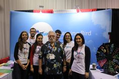 Education thought leader Tom Whitby and some of the Learning Bird team