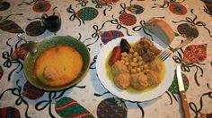Pelotas de carne .Murcia. Chorizo, Spanish Kitchen, Carne Picada, Albondigas, Murcia, Grains, Rice, Food, Squeezed Lemon