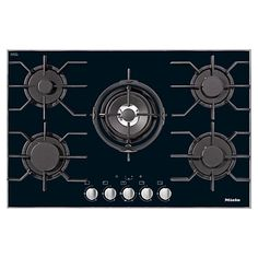 Buy Miele KM3034 Integrated Gas Hob Online at johnlewis.com