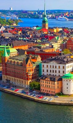Old Town (Gamla Stan) in Stockholm Sweden