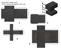 Papercraft Minecraft Skin, Minecraft Templates, Minecraft Blocks, Minecraft Construction, Minecraft Pixel Art, Minecraft Creations, Cool Minecraft, Minecraft Crafts, Minecraft Skins