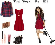 """Tori Vega"" by mynameisbeautiful ❤ liked on Polyvore"