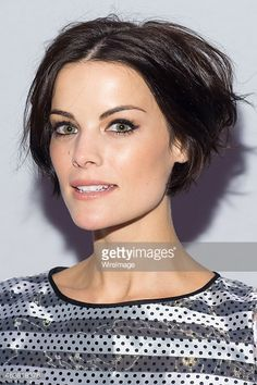 Jaimie Alexander attends the Erin Fetherston show during Mercedes-Benz Fashion Week Fall 2015 at