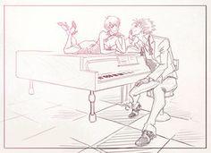 Vash and Meryl piano Rise Art, Vash, Best Couple, Cartoon Art, Artist At Work, Peace And Love, Cool Art, Fan Art, Deviantart