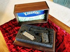 Simple Tissue Box to Hide A Gun